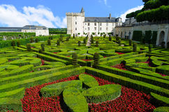 Gardens of Villandry - France Stock Images