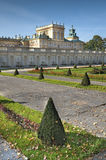 Gardens of Wilanow Palace Stock Photos
