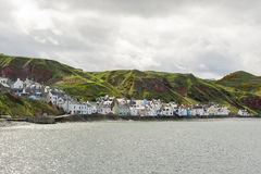Gardenstown Skottland Arkivfoto