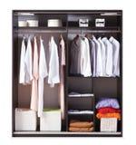 Garderob för hem arkivfoton