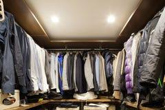 garderoba Zdjęcie Royalty Free