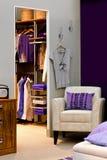 Garderobe Stockfotos