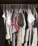 Garderobe Lizenzfreie Stockbilder