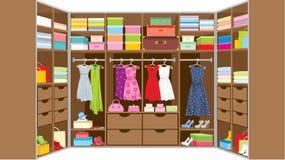 Garderobenraum. Möbel Stockbilder
