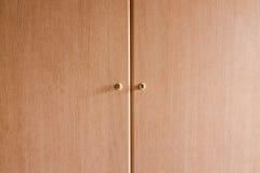Garderoby drzwi. Zdjęcie Stock