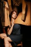 garderoby kobieta Zdjęcia Royalty Free