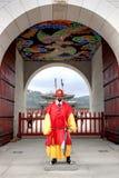 Gardes au palais de Gyeongbokgung Photos stock