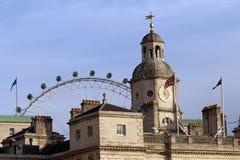 Gardes de cheval construisant, Londres Image libre de droits