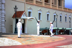 Gardes de ville de Monte Carlo photo libre de droits