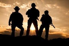 Gardes forestières d'armée d'Etats-Unis Photos libres de droits