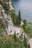 Gardesana Occidentale scenic route, Italy royalty free stock photo
