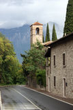 Gardesee. Small city in Italy stock photography