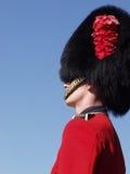 Gardesoldaat bij Citadel 2 van Quebec royalty-vrije stock fotografie