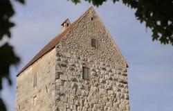 Gardez du château Schweppermannsburg chez Pfaffenhofen, Palatinat supérieur, Allemagne Image libre de droits