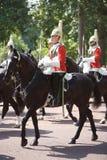 Gardez royal, assemblement de la couleur, Londres Photos libres de droits
