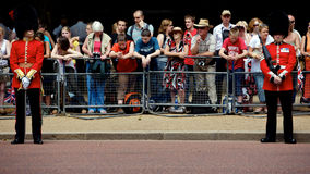 Gardez royal, assemblement de la couleur, Londres Photos stock