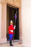 Gardez se tenir prêt l'entrée au Panthéon national du héros Image libre de droits