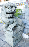 Gardien chinois de lion Images stock