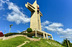 Gardien Cross dans le maquereau, Porto Rico Photos stock