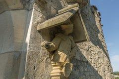 Gardien d'†de château du Lichtenstein «à la porte d'entrée photo libre de droits