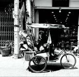 Gardien de déchets d'incapacités Photographie stock