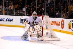 Gardien de but de Marc-Andre Fleury Pittsburgh Penguins Photo libre de droits
