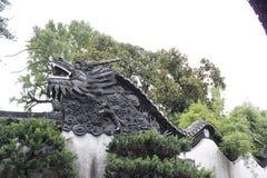 Gardien 2 de jardin de Changhaï Yu photos stock