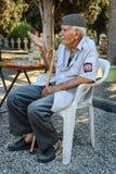 Gardien serbe Djordje Mihailovic de cimetière image stock