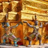 Gardiens de temple Photos libres de droits