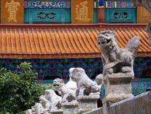Gardiens de temple Image libre de droits