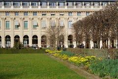 Gardiens del Palais Royal Imagenes de archivo