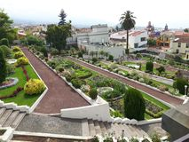 Gardin botanico Orotava Tenerife Fotografia Stock Libera da Diritti