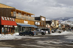 Gardiner, Montana Images stock