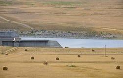 Gardiner Tama jezioro Diefenbaker obraz royalty free