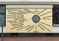 Gardiners hörn Nantucket Massachusetts Arkivbilder