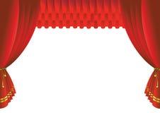 gardinetapp Arkivfoto