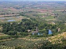Gardino Di Ninfa stock afbeeldingen
