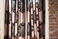 gardinvägg Arkivbild