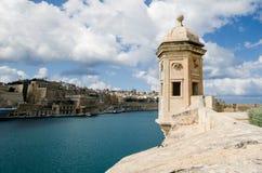 Gardjola, Valletta, Malta Obrazy Stock