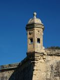 Gardjola1. Fortress Lookout Post in MAlta Royalty Free Stock Photography