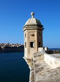 Gardjola1. Fortress Lookout Post in MAlta Royalty Free Stock Images