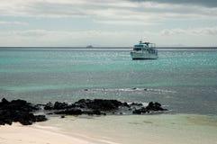 Gardner Bay,Galapagos. This photo was taken during cruise near Hood(Espanola) Island,Galapagos Royalty Free Stock Photography