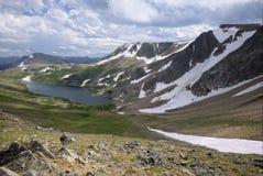 Gardner Lake en las montañas de Beartooth Fotografía de archivo libre de regalías