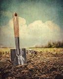Gardning-Werkzeuge Lizenzfreies Stockfoto