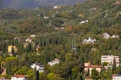 Gardone la Riviera sur le policier Italie de lac Photo libre de droits