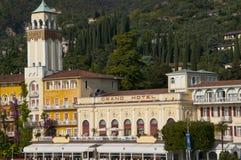 Gardone la Riviera sur le policier Italie de lac Photos libres de droits