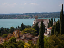 Gardone on Lake Garda Royalty Free Stock Photos