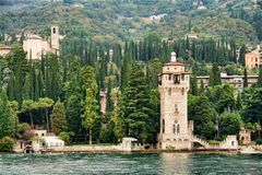 Gardone lighthouse stock image