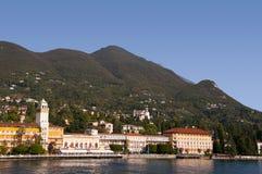 Gardone Riviera στη λίμνη Garda Ιταλία Στοκ Εικόνα