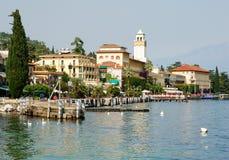 Gardone-Riviera (Italië) Stock Afbeelding